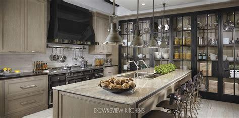 industrial chic downsview kitchens  fine custom