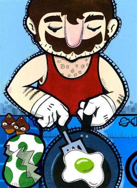 Kaos Mario Bros Mario Artworks 15 20 fantastic exles of mario inspired artwork