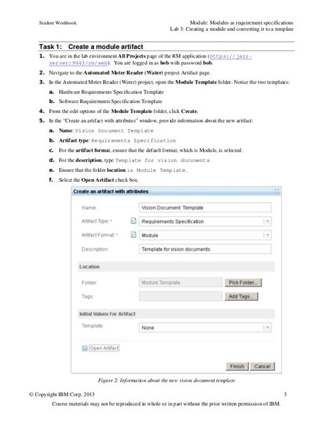 Module Template by Lab 3 Creating A Module And Converting It To A Template