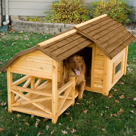 hayneedle boomer george wooden barn dog house shop    shopping earn points