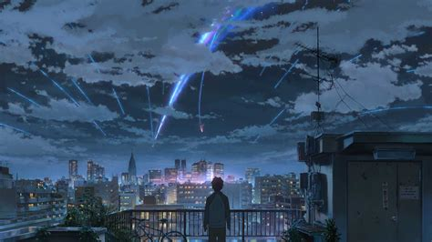 Kimi No Na Wa Background Your Name Wallpapers Anime Hq Your Name Pictures 4k Wallpapers