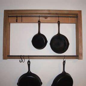 cast iron hanging pot rack foter