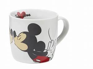 Mickey Mouse Tasse : mickey mouse tasse kiss 300 ml kaffeetasse real ~ A.2002-acura-tl-radio.info Haus und Dekorationen
