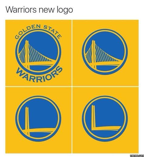 Meme Logo - warriors new logo memes com