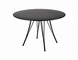 Table Ronde Noire : table ronde noir ~ Teatrodelosmanantiales.com Idées de Décoration