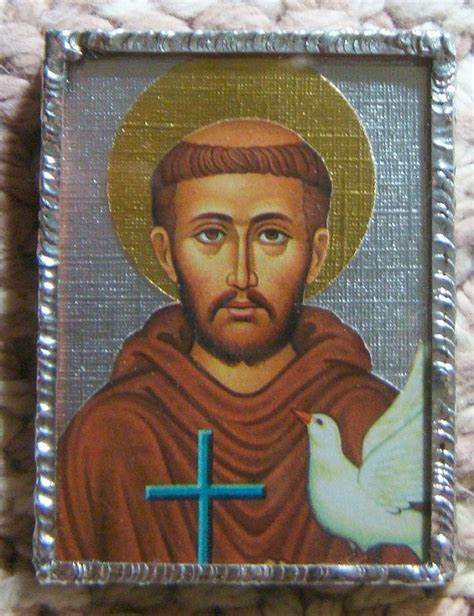 st francis of assisi icon 47 best images about icone san francesco on to be loved patron saints and animais