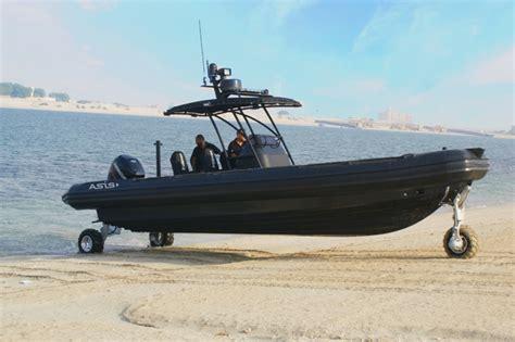 asis boats unveils   foot amphibious rib trade