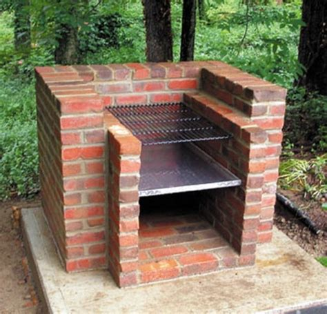 backyard grill south how to build a brick barbecue for your backyard icreatived