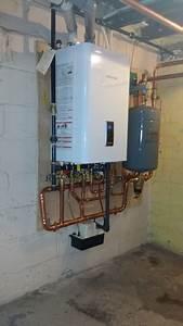 Navien Combi Boiler Installation