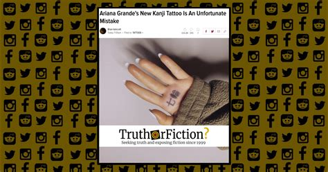 ariana grandes  rings tattoo