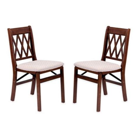 buy westerly acacia wood folding chairs set of 2 from