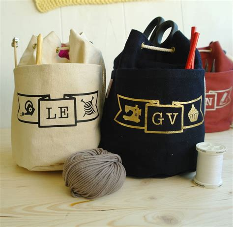 personalised craft project ditty bag  sproglets kits