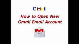 How To Open Gmail Account   Create New Gmail Account