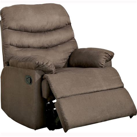Microfiber Recliner by Contemporary Microfiber Recliner Chair Brown