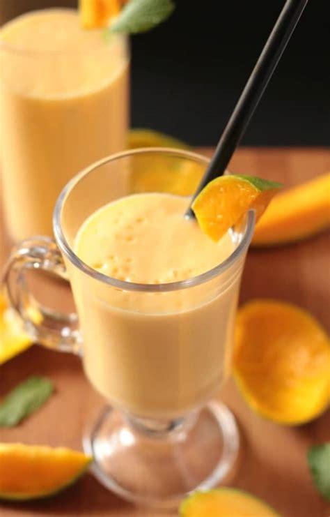 mango milkshake  knead  eat