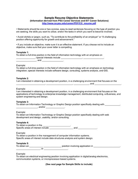 Sample Career Aspirations Statement Military Bralicious Co