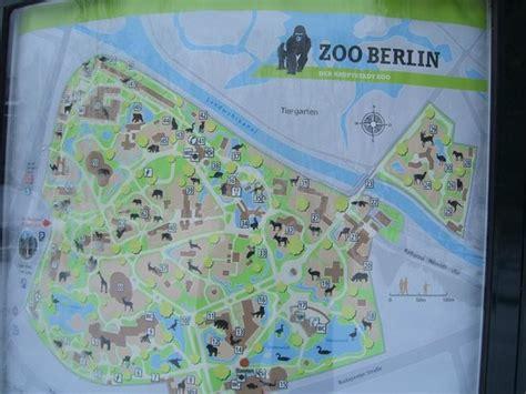 Zoologischer Garten Berlin Eintrittspreis by Much Needed Map Picture Of Berlin Zoological Garden