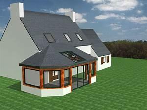 Cout Agrandissement Maison : bien cout agrandissement maison 40m2 10 extension de ~ Premium-room.com Idées de Décoration