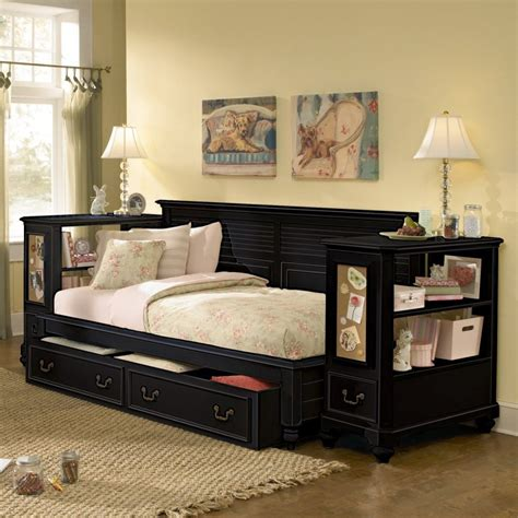 bedroom amazing full size daybed  trundle  bedroom