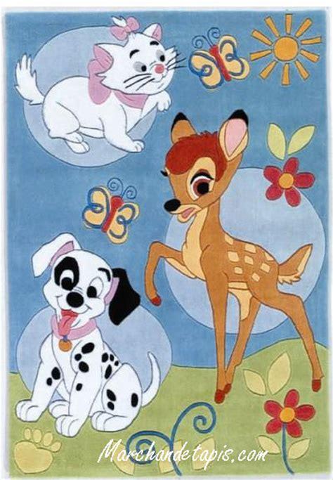 tapis enfant bambi dalmatien  aristochat xcm