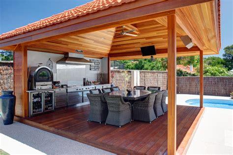 Stainless Steel Outdoor Alfresco Kitchen Perth Modern