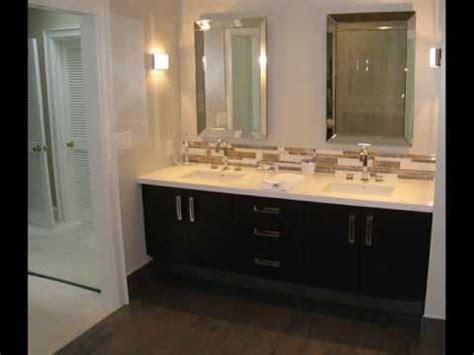 double sink vanity small bathroom design ideas youtube