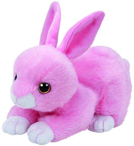 ty bunny pink beanie babies stuffed plush animal walker light jumper inch regular rabbit noihse walmart egg