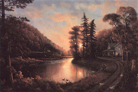 Peaceful Evening By Jesse Barnes