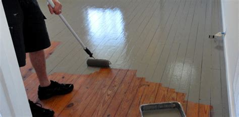 como pintar pisos de madera constru guia al