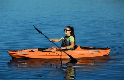 Sun Dolphin Boats Reviews by The Kl Industries Sun Dolphin Bali Ss Kayak Review