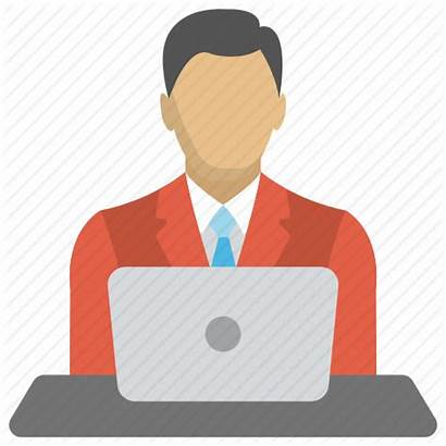 Icon Professional Person Investor Employee Businessman Freelancer