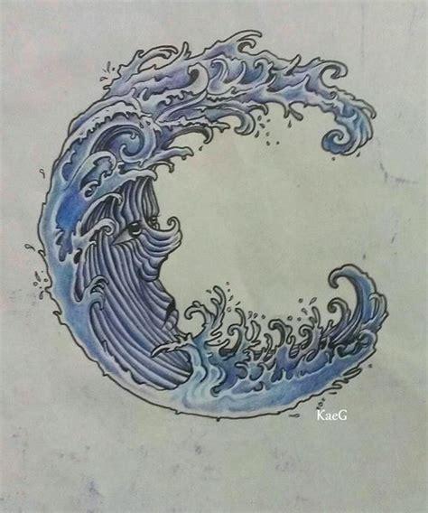 japanese wave tattoos ideas  pinterest wave