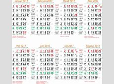 Toko Fadhil Template Kalender 2017 29 Template Kalender