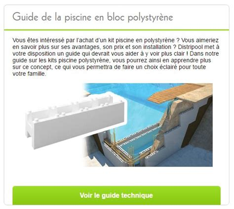 piscine en kit polystyr 232 ne premium rectangulaire distripool