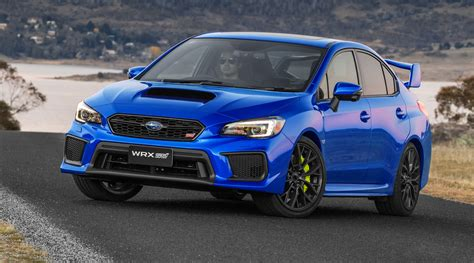 2018 Subaru Wrx Wrx Sti Pricing And Specs Tweaked Looks
