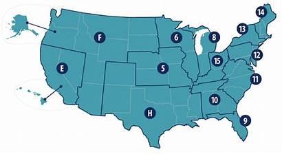 Jurisdiction Map Medicare Oig Contractors States Oas