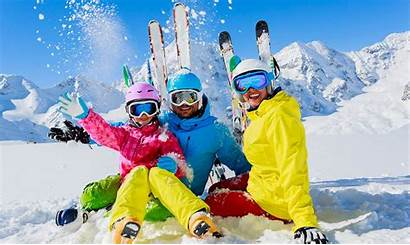 Winter Vacations Families