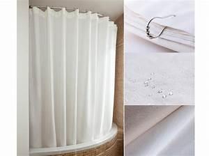 Rideau Baignoire Rigide : rideau de douche 15 rideaux de douche pour une salle de ~ Nature-et-papiers.com Idées de Décoration