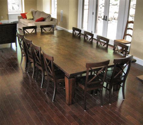 12 person dining room table 12 seat dining room table we wanted to keep the