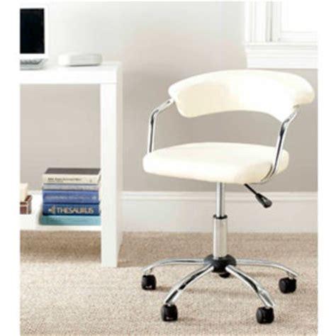 White Desk Chair Walmart by Walmart Safavieh Pier Desk Chair White From Walmart