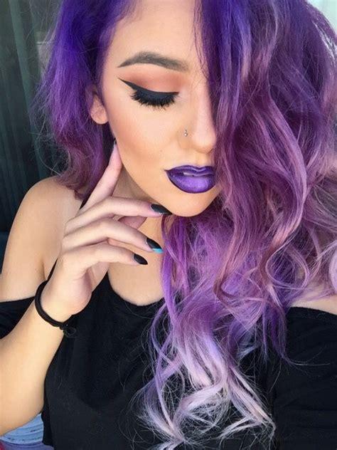 25 Best Ideas About Purple Blonde Hair On Pinterest