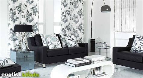 luxury black grey  white monotone floral patterned