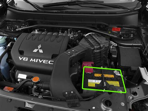 Mitsubishi Outlander Battery Location Abs Batteries
