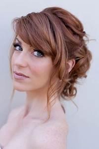 Coiffure Pour Cheveux Mi Longs : coiffure mariage sur cheveux mi long ~ Melissatoandfro.com Idées de Décoration