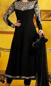 wedding party dresses for women boutique style black frock with choori pajama for
