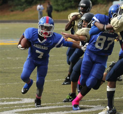 Stephenson Jaguars Football by Trail To The Title Middle School Football Playoff