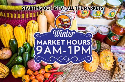 Heirloom Farmers Markets Time Change / KXCI
