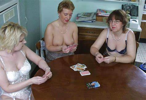 Granny Plays Poker Then Poundings Double Dicked