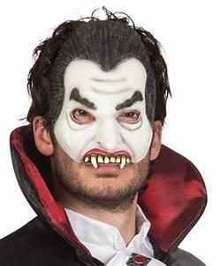 Grusel Kostüm Kinder : vampir maske halbmaske mit z hnen grusel halloween ~ Lizthompson.info Haus und Dekorationen