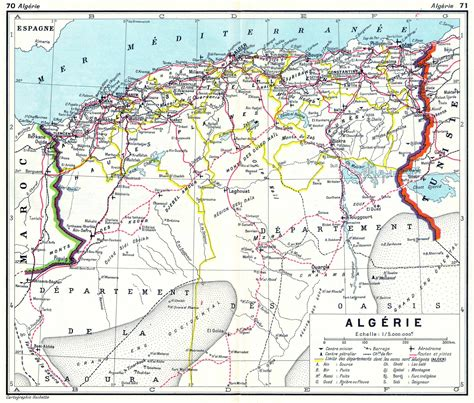 Carte Algerie Villes by Carte De L Alg 233 Rie Villes Routes Relief